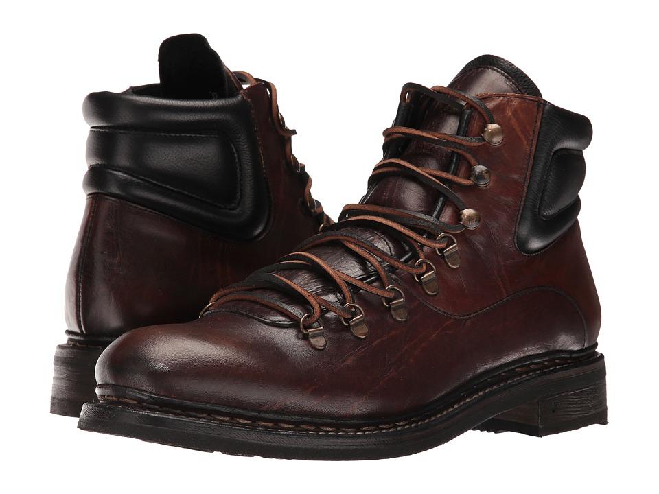 John Varvatos Rivington Hiker Boot (Walnut) Men