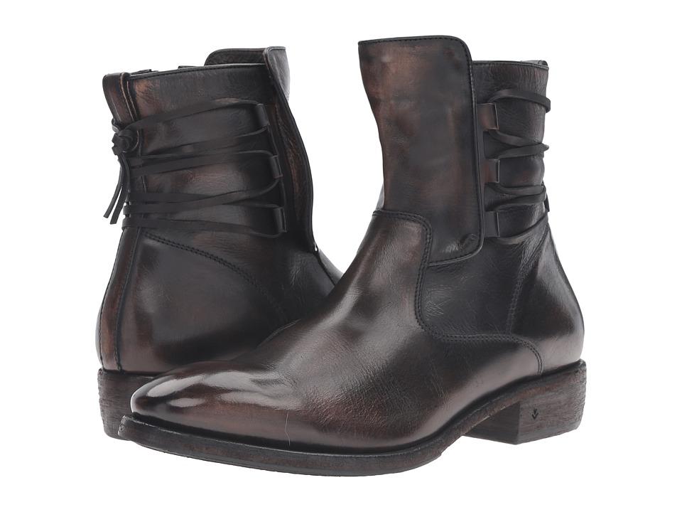 John Varvatos Keith Lace Boot (Black Sand) Men