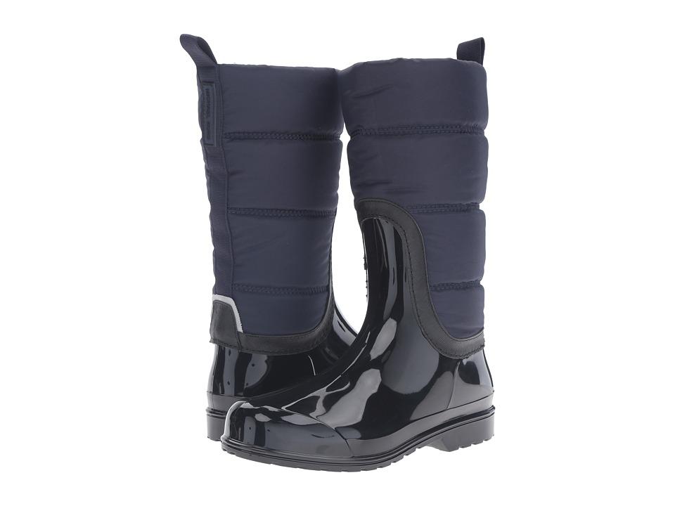MICHAEL Michael Kors Cabot Quilted Rain Boot (Admiral/Black Rubber/Nylon/Saffiano) Women