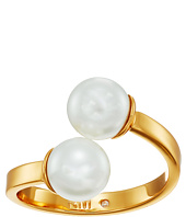 Rebecca Minkoff - Two-Tone Double Bead Ring