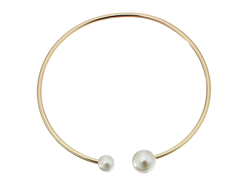 Rebecca Minkoff - Pearl Collar Necklace (Gold/Pearl) Necklace