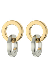 Rebecca Minkoff - Two-Tone Link Earrings