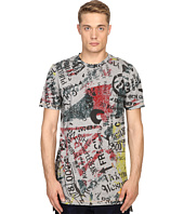 Vivienne Westwood - Anglomania Newspaper Rubbish T-Shirt