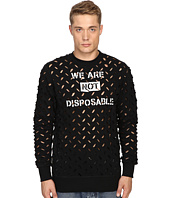 Vivienne Westwood - Anglomania We Are Not Disposable Sweater