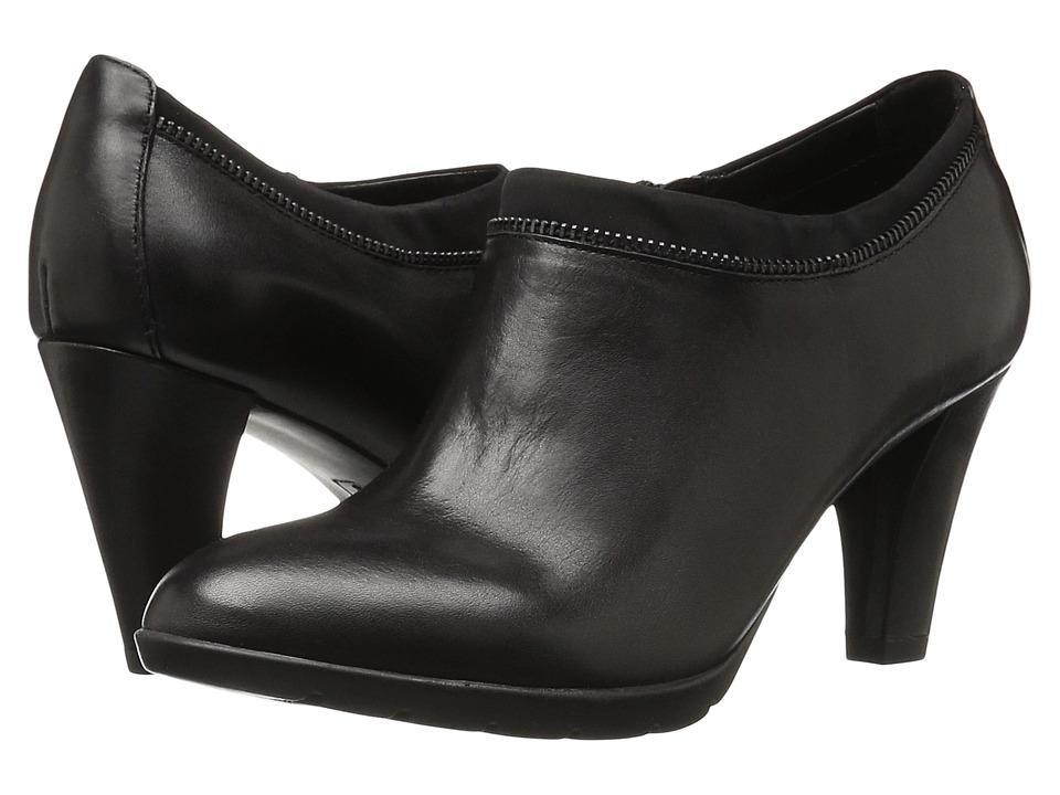 Anne Klein Dalayne (Black/Black Leather) Women