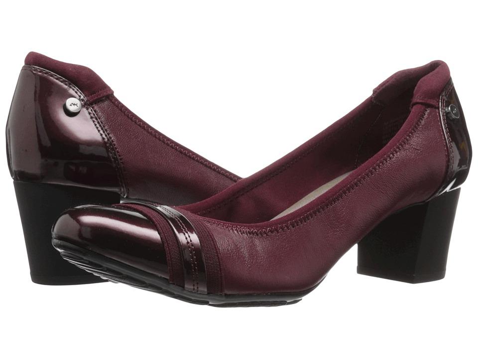 Anne Klein Guardian (Wine Multi Leather) High Heels