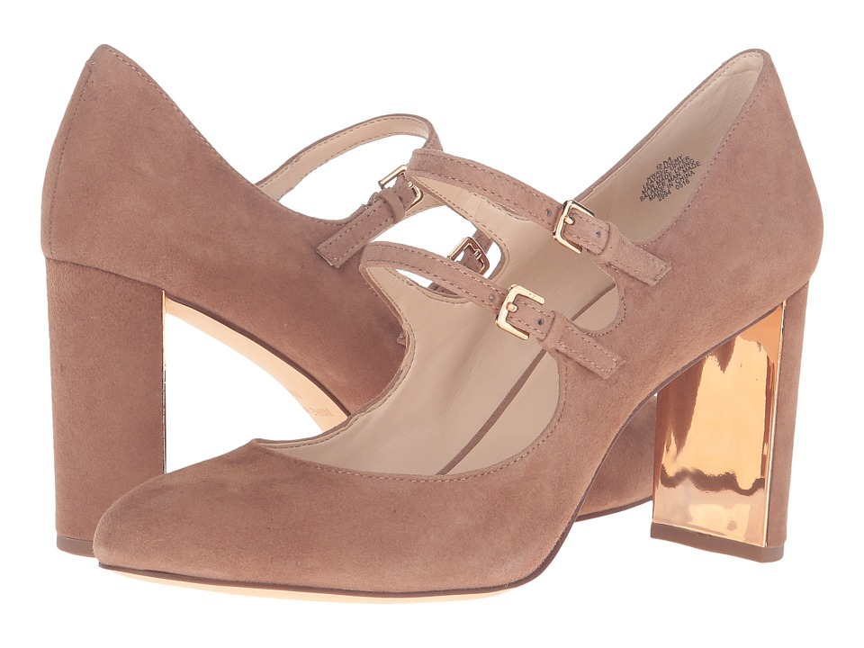 Nine West - Academy (Natural Suede) Women