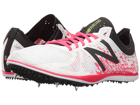 New Balance LD500v4 Long Distance Spike - White/Pink