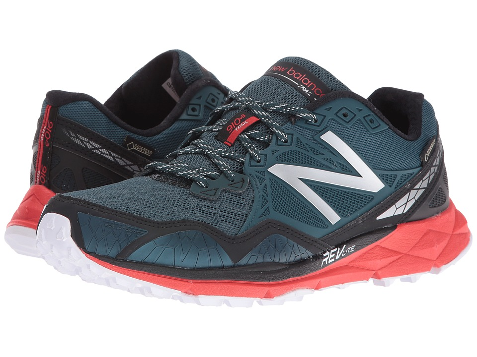 New Balance 910v3 GORE-TEX(r) (Green/Red) Men's Running S...