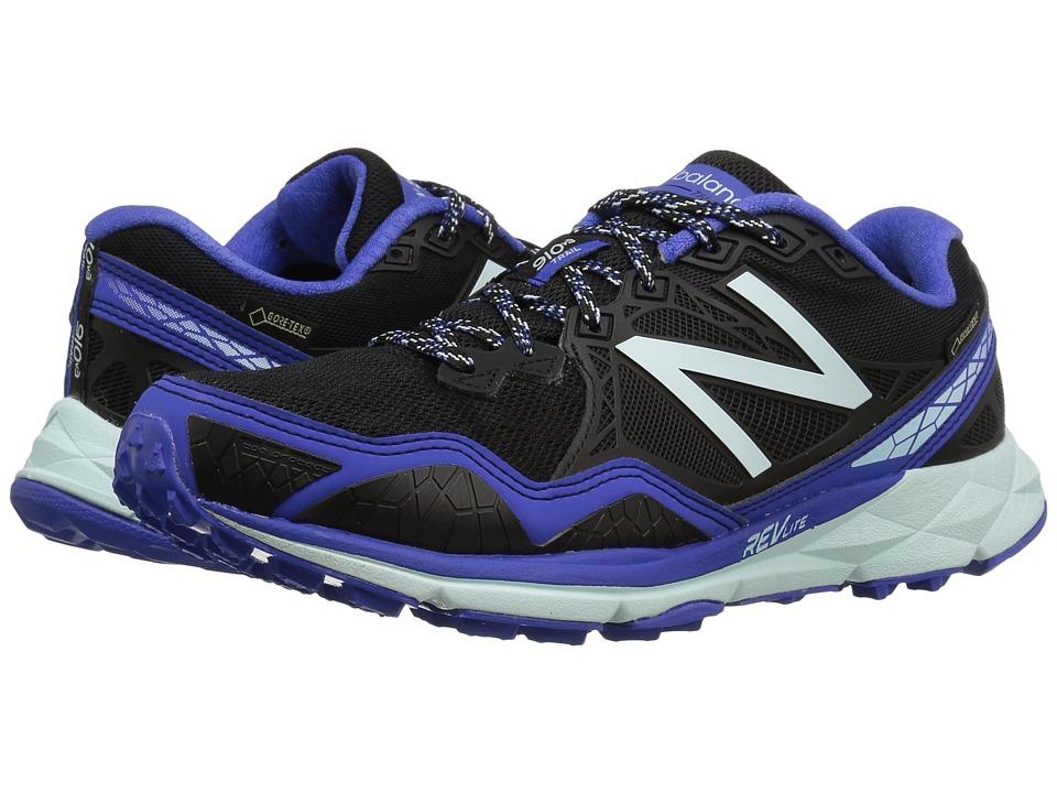 New Balance - 910v3 GORE-TEX (Black/Blue) Womens Running Shoes
