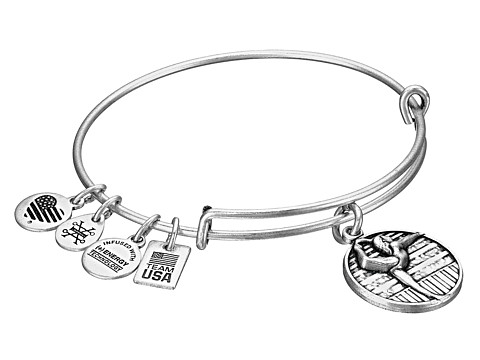 Alex and Ani Team USA Gymnastics Bangle - Silver
