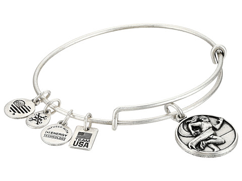 Alex and Ani Team USA Track and Field Bangle - Silver