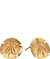 Alex and Ani - Post Earrings Sand Dollar