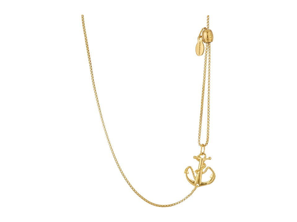 Alex and Ani - Pull Chain Necklace Anchor