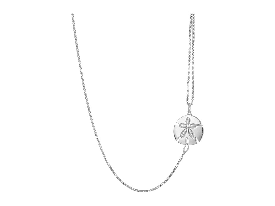 Alex and Ani - Pull Chain Necklace Sand Dollar
