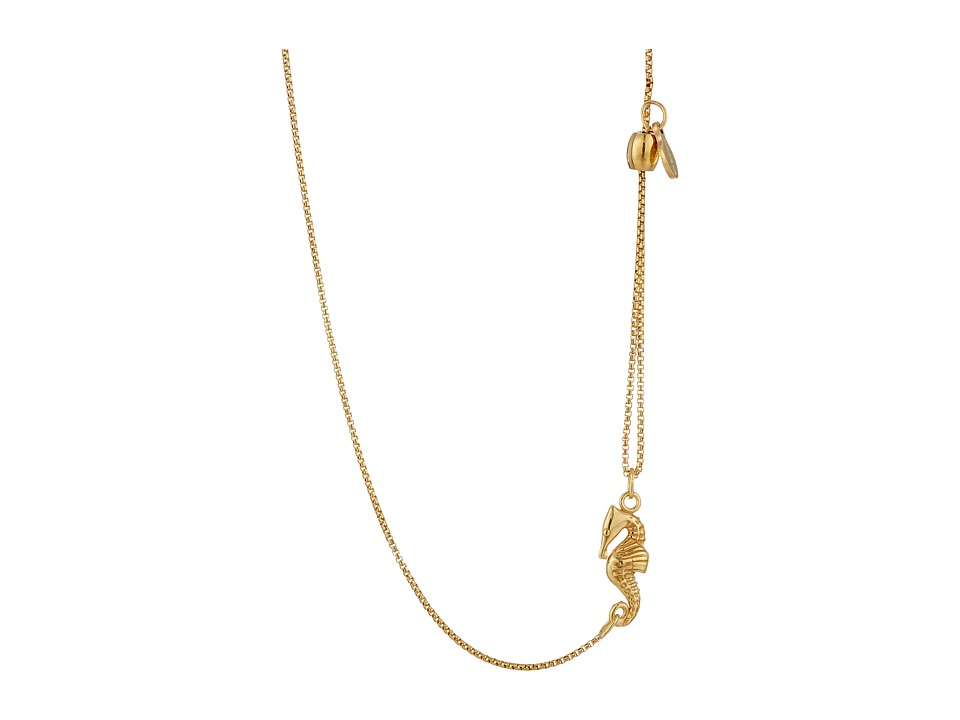 Alex and Ani - Pull Chain Necklace Seahorse