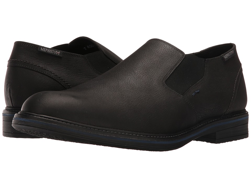 Mephisto - Wilco (Black Kansas) Mens Lace up casual Shoes