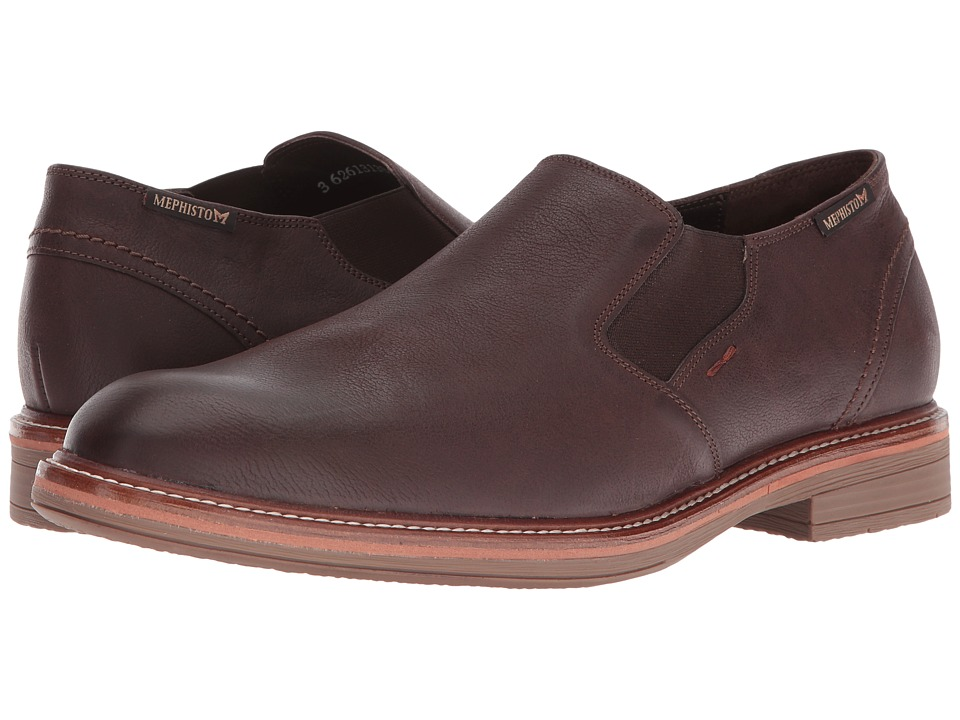 Mephisto Wilco (Dark Brown Kansas) Men