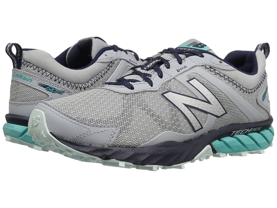 New Balance - T610v5 (Silver Mink/Aquarius/Pigment/Droplet) Womens Running Shoes