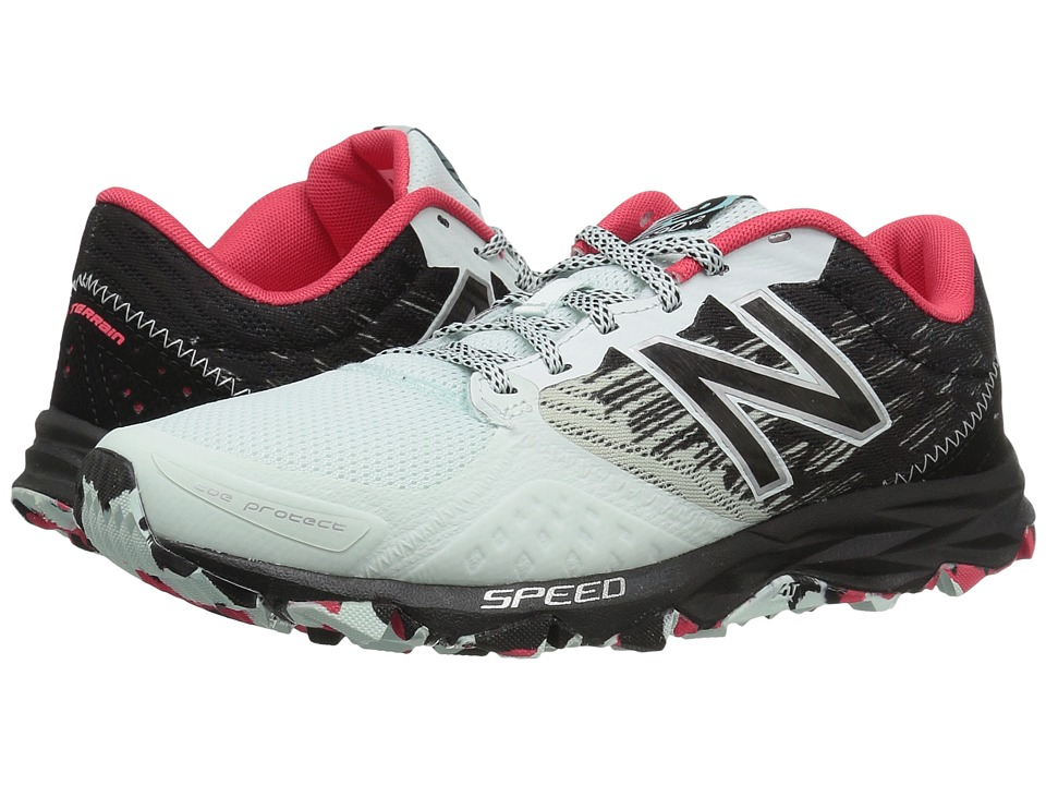 New Balance - T690v2 Speed Ride (Droplet/Black/Blossom/Guava) Womens Running Shoes