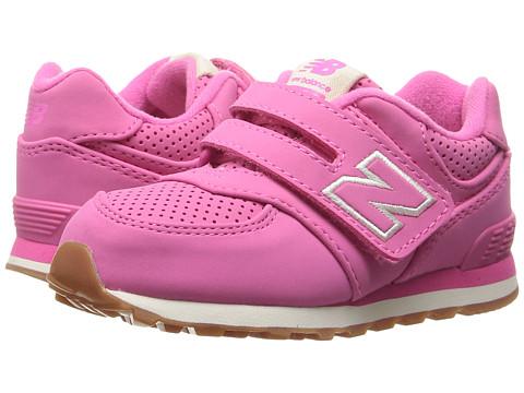 New Balance Kids KV574v1 (Infant/Toddler) - Pink/Pink