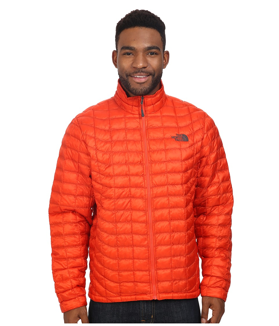 The North Face - ThermoBall Full Zip Jacket (Poinciana Orange) Men