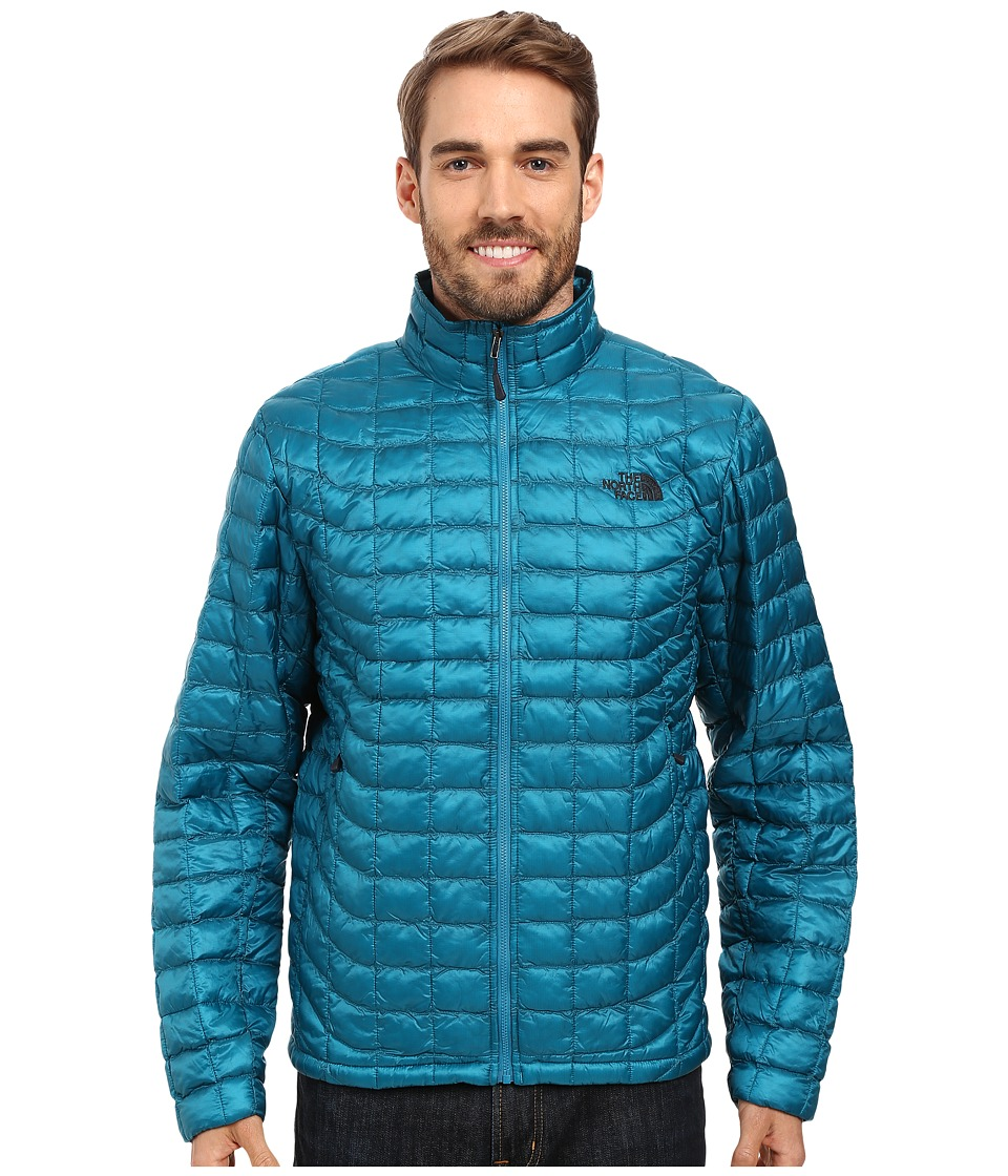 The North Face - ThermoBall Full Zip Jacket (Ocean Depths Blue) Men