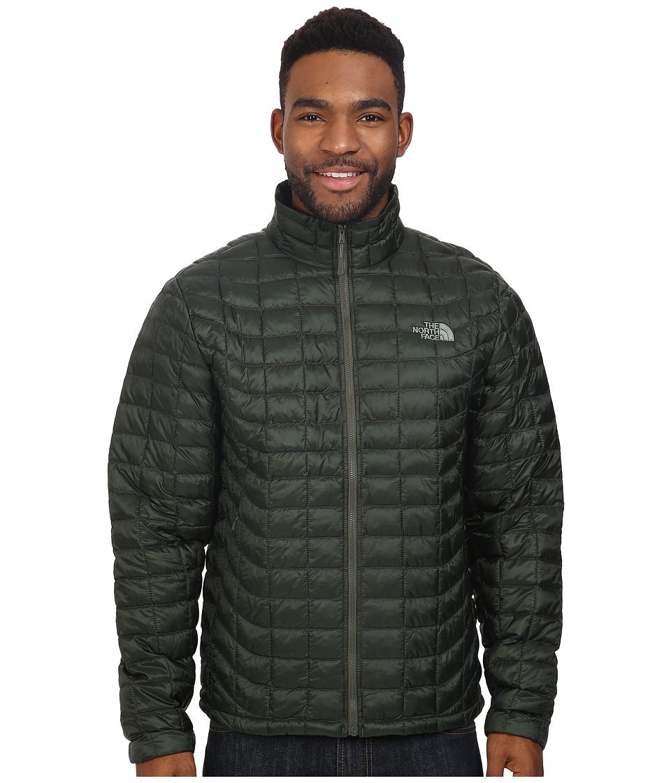 The North Face - ThermoBall Full Zip Jacket (Climbing Ivy Green) Men