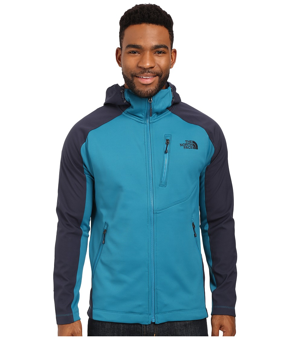 The North Face - Tenacious Hybrid Hoodie (Ocean Depths Blue/Urban Navy) Men