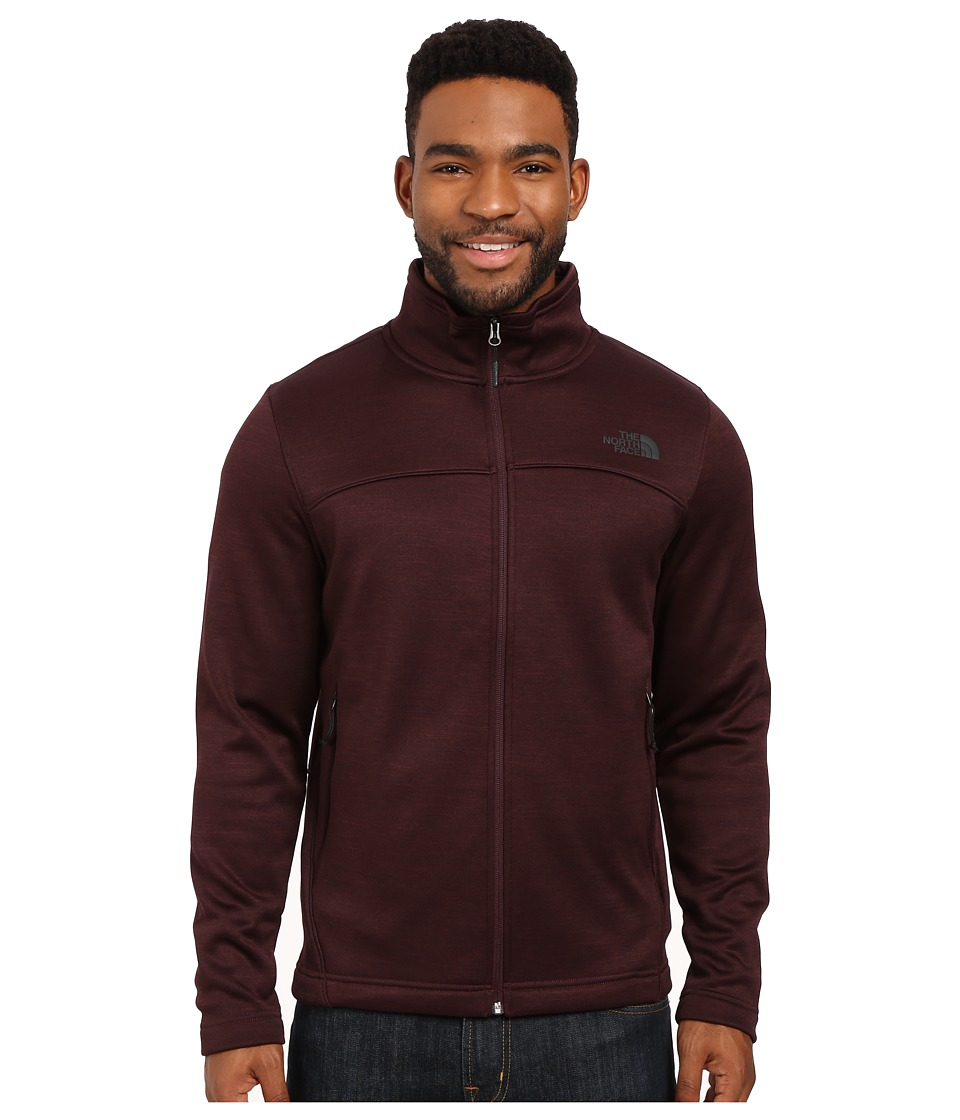 The North Face Schenley Full Zip (Root Brown Heather) Men