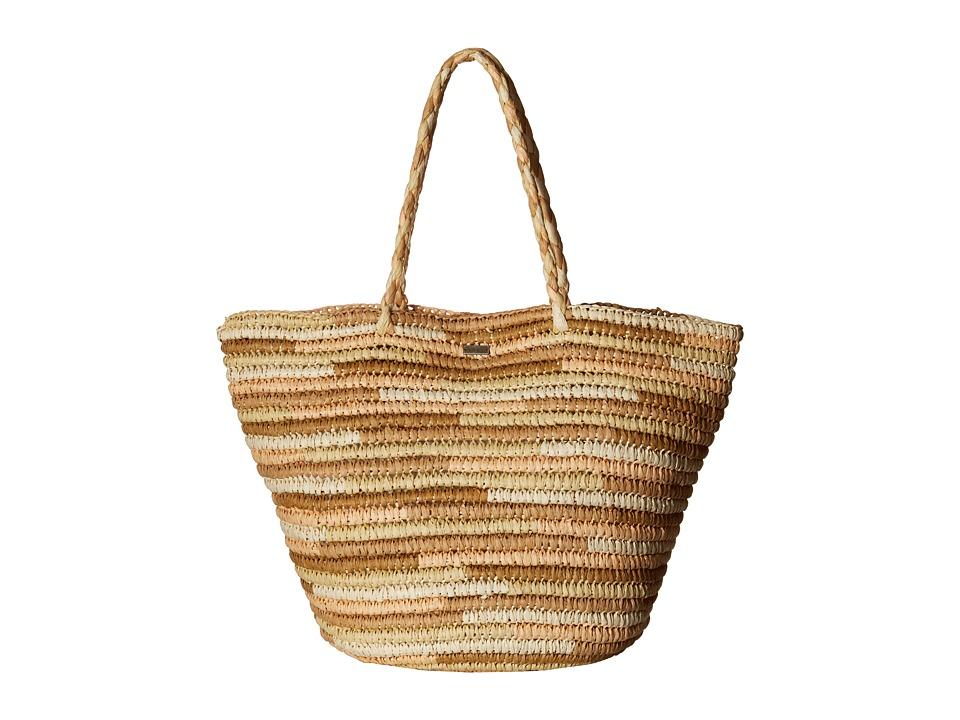 Roxy - Butternut Tote Beach Bag (Lark) Tote Handbags