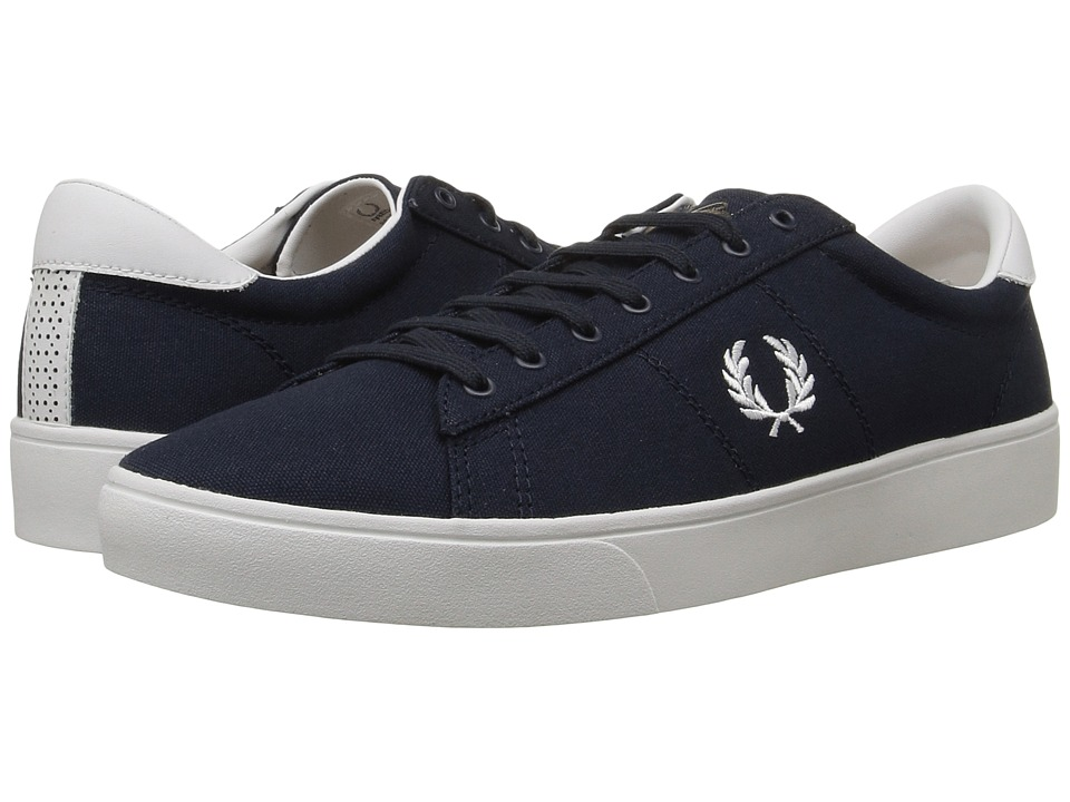 Fred Perry - Spencer Canvas (Navy/White) Men