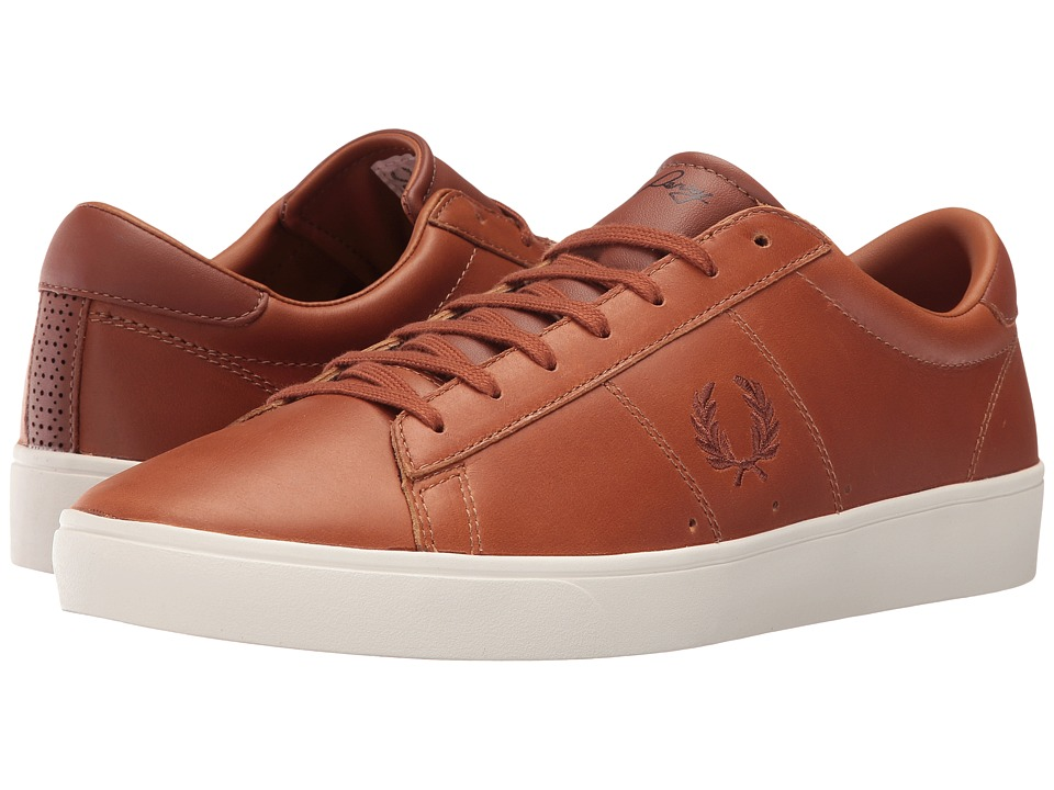 Fred Perry - Spencer Waxed Leather (Tan) Mens Lace up casual Shoes