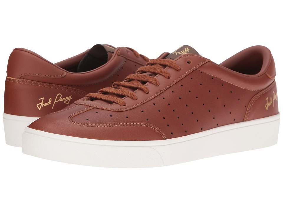 Fred Perry Umpire Tumbled Leather (Tan) Men