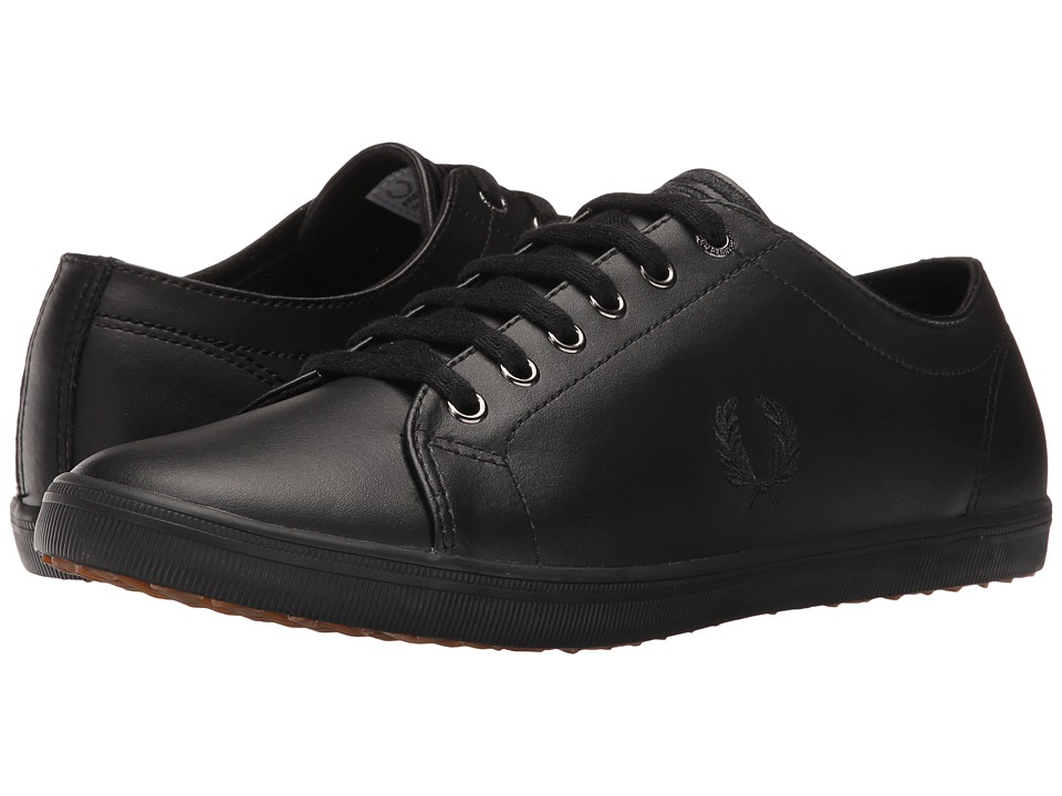 Fred Perry - Kingston Leather (Black/Black) Men