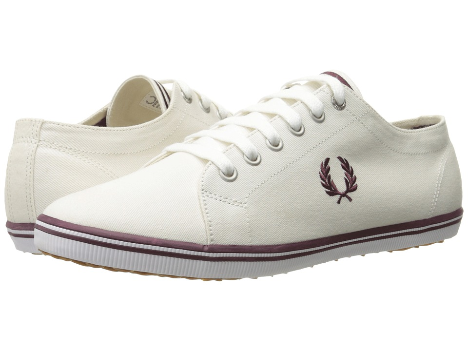 Fred Perry - Kingston Twill (Porcelain/Oxblood) Men