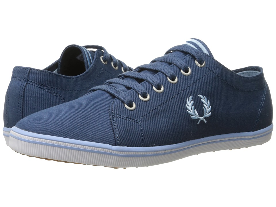 Fred Perry - Kingston Twill (Midnight Blue/Glacier) Men