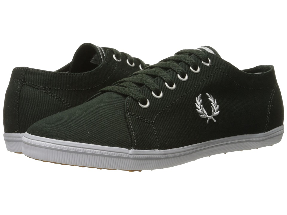 Fred Perry - Kingston Twill (British Racing Green/Dolphin) Men