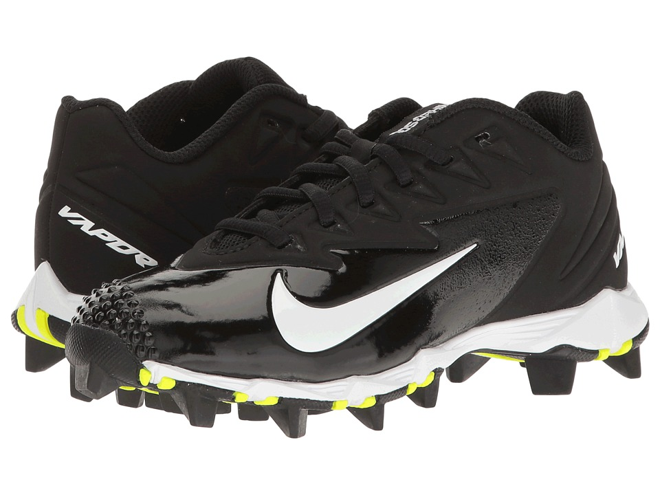 Nike Kids Vapor Ultrafly Keystone Baseball (Toddler/Little Kid/Big Kid) (Black/White/Black) Kids Shoes