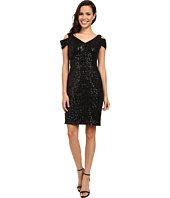 Calvin Klein - Cold Shoulder Sequin Dress CD6B2V4K