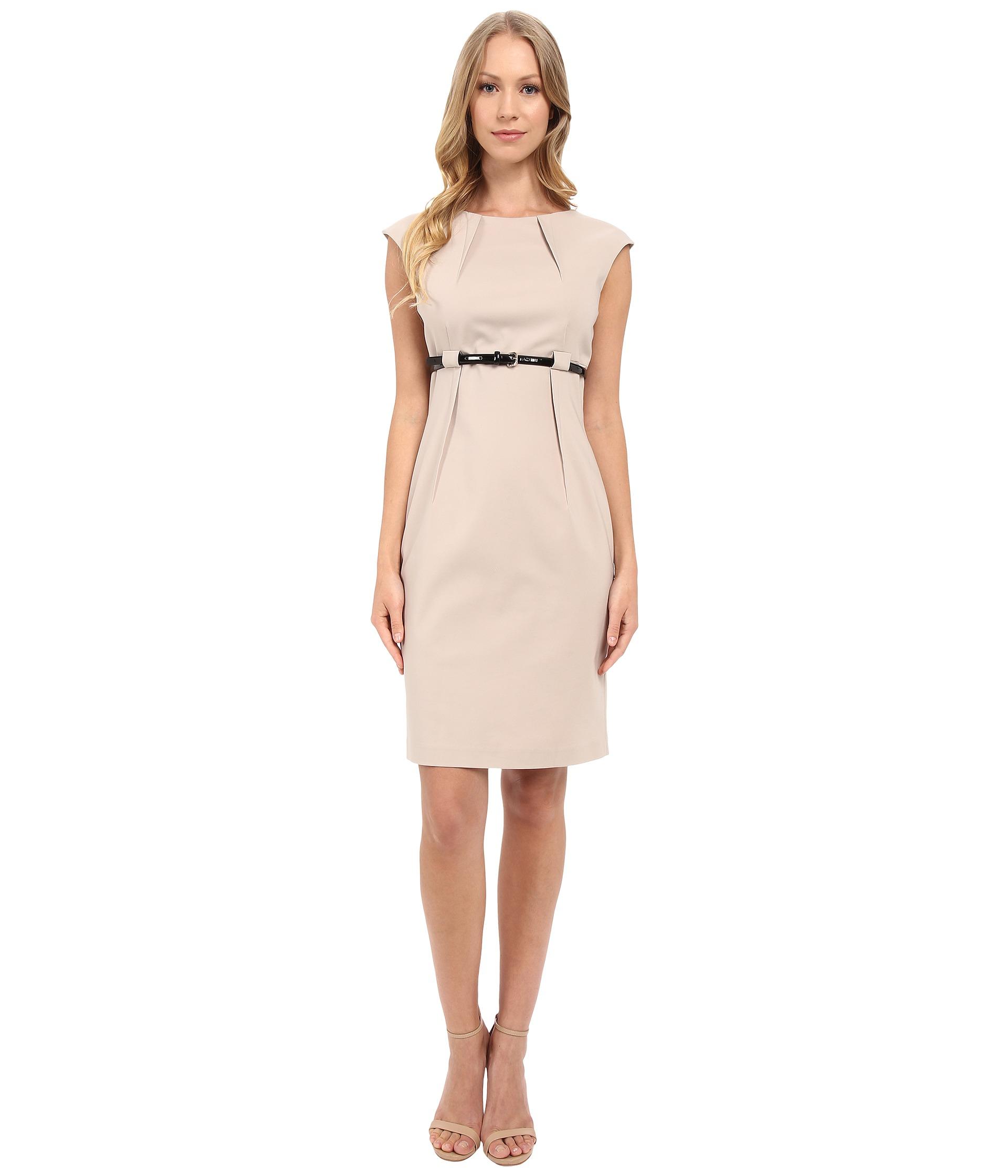 Galerry sheath dress empire waist