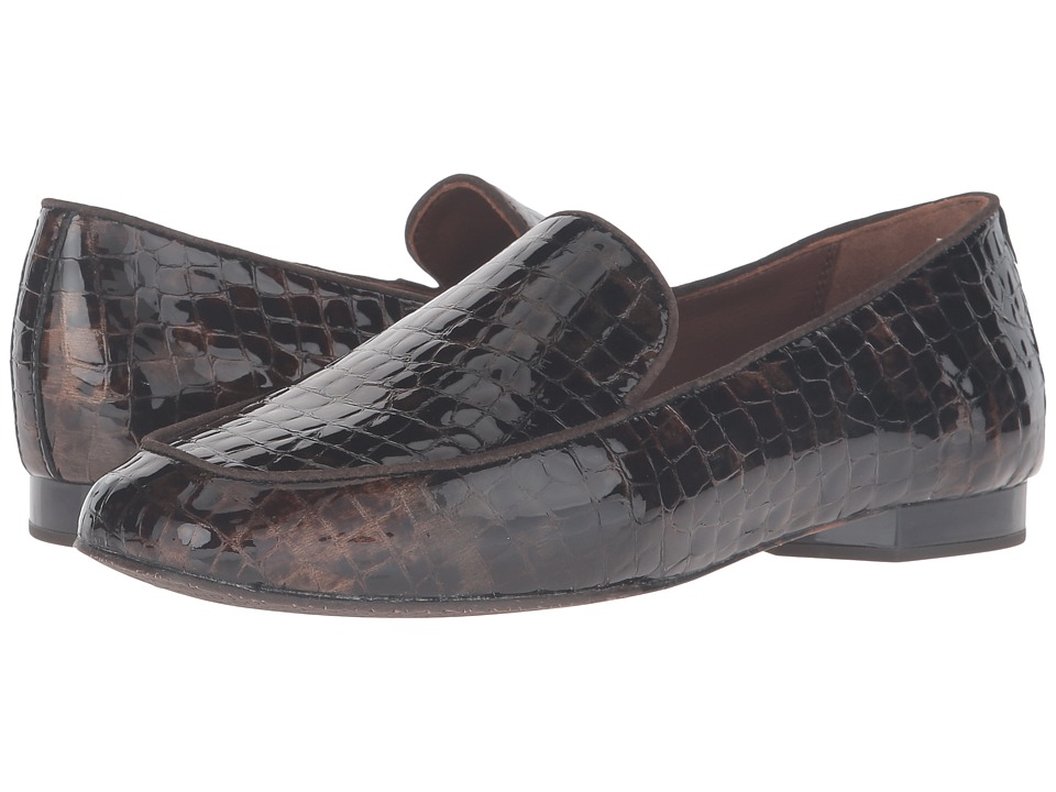 Donald J Pliner - Helene 2 (Bronze Antique Patent Crocco) Women