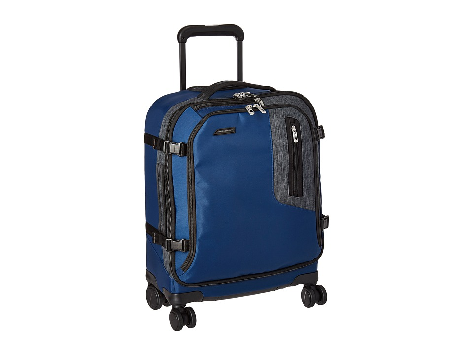 Briggs & Riley - BRX Explore International Wide Body Spinner (Blue) Pullman Luggage