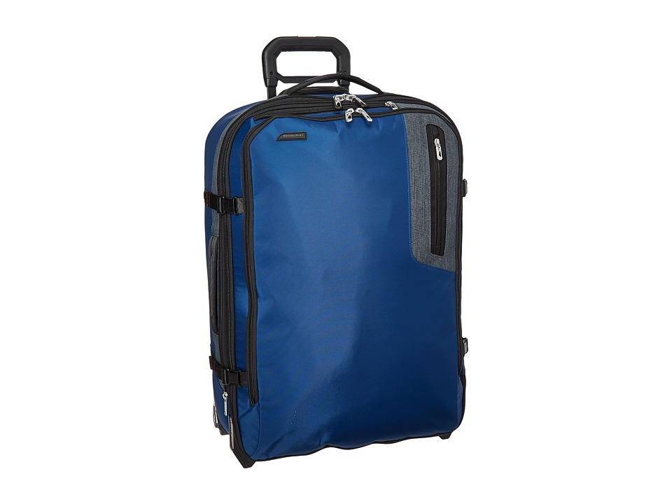 Briggs & Riley - BRX - Explore Medium Upright (Blue) Pullman Luggage