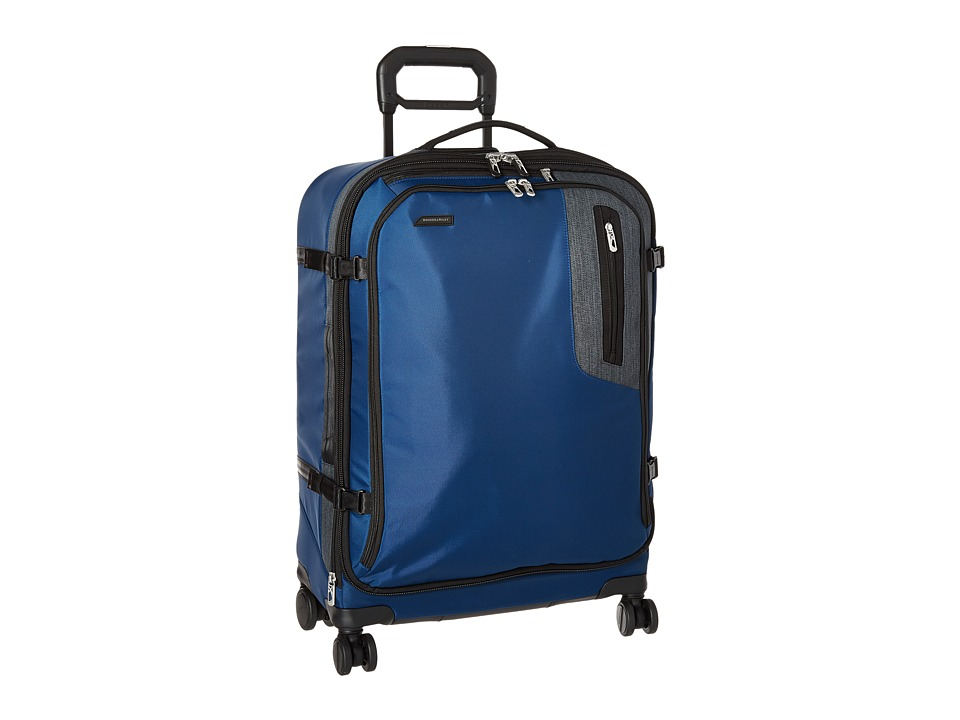 Briggs & Riley - BRX - Explore Medium Expandable Spinner (Blue) Luggage