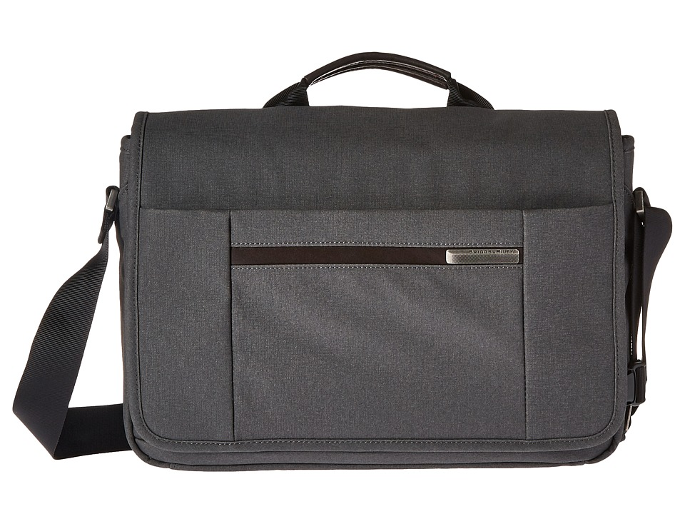 Briggs & Riley - Kinzie Street - Micro Messenger (Grey) Messenger Bags