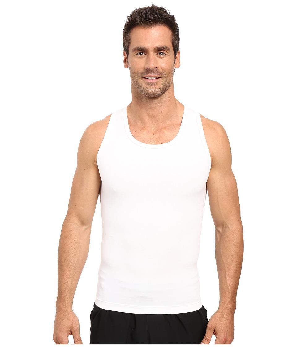 2(x)ist Shapewear Form Tank (White) Men's Sleeveless