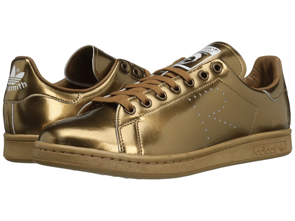 Image of adidas by Raf Simons - Raf Simons Stan Smith (Copper Metallic/Copper Metallic/Copper Metallic) Athletic Shoes