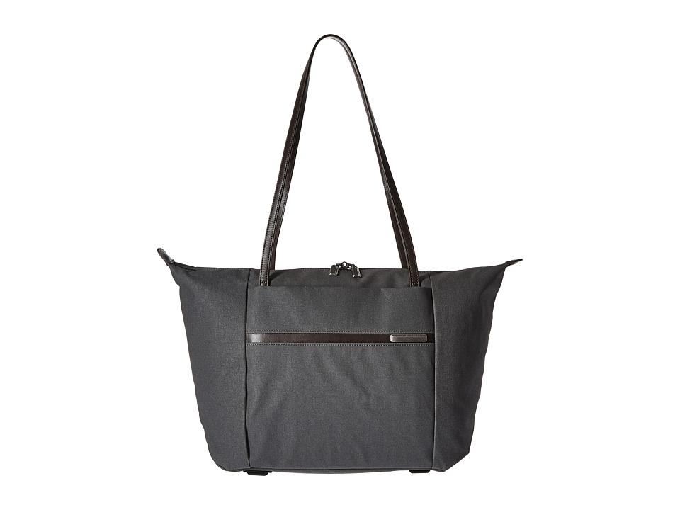 Briggs & Riley - Kinzie Street - Horizontal Tote (Grey) Tote Handbags