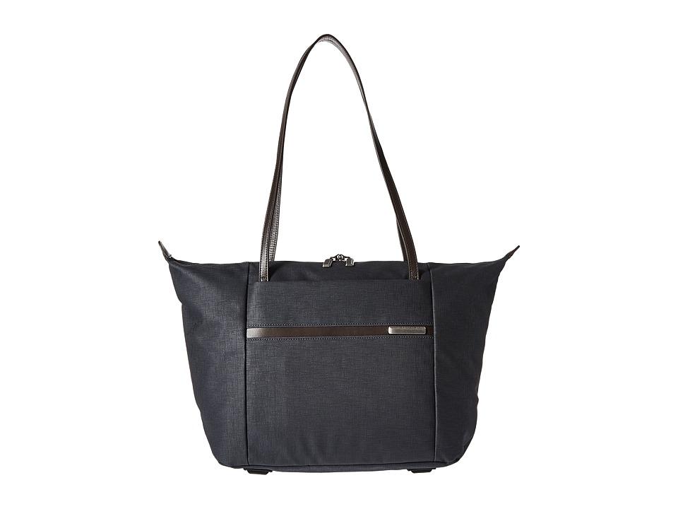 Briggs & Riley - Kinzie Street - Horizontal Tote (Navy Blue) Tote Handbags